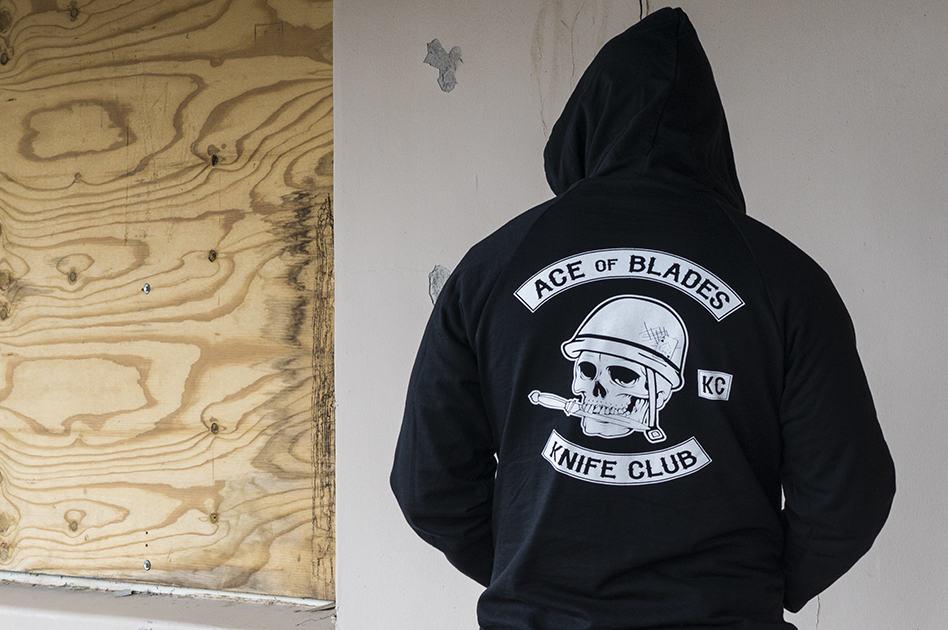 Ace of Blades Knife Club Hoodie