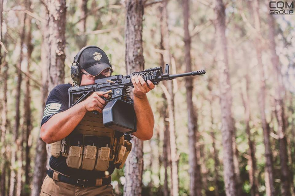 Fightlite MCR 27 in use
