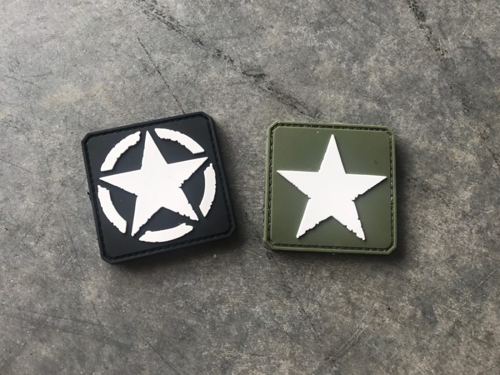Army Star patch Set