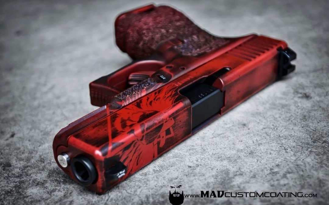 MAD Custom Coating Glock 23 Coating Review
