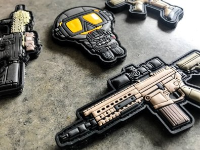 velcro gun patches