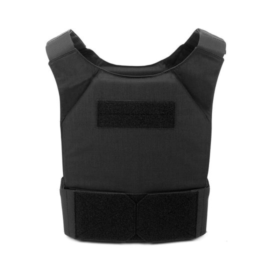 Black Covert Plate Carrier