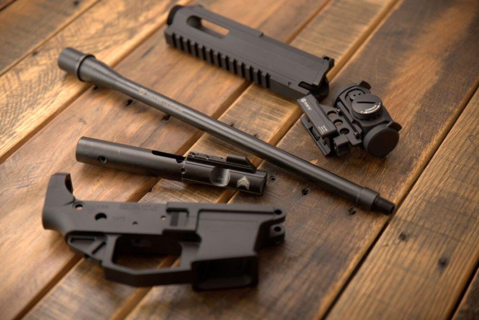 14.5 9mm ar barrel