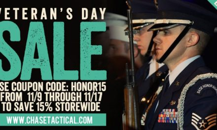 Chase Tactical Extended Veterans Day Sale!