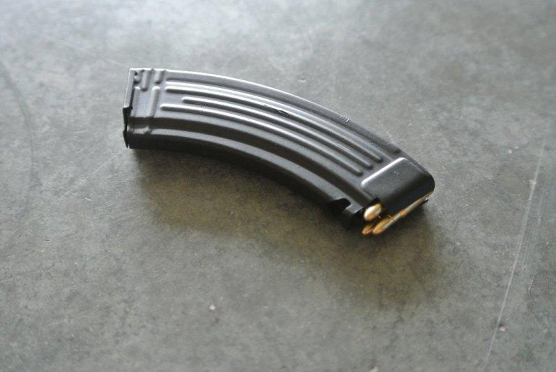Goat Gun Ak-47 mag loaded