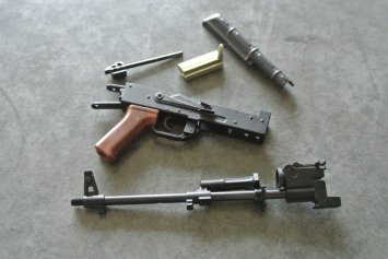Goat Gun Ak-47 recierver and barrel parts