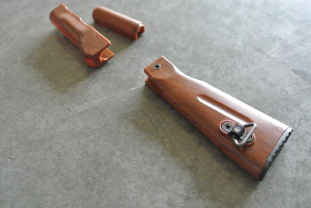 Goat Gun Ak-47 wood parts