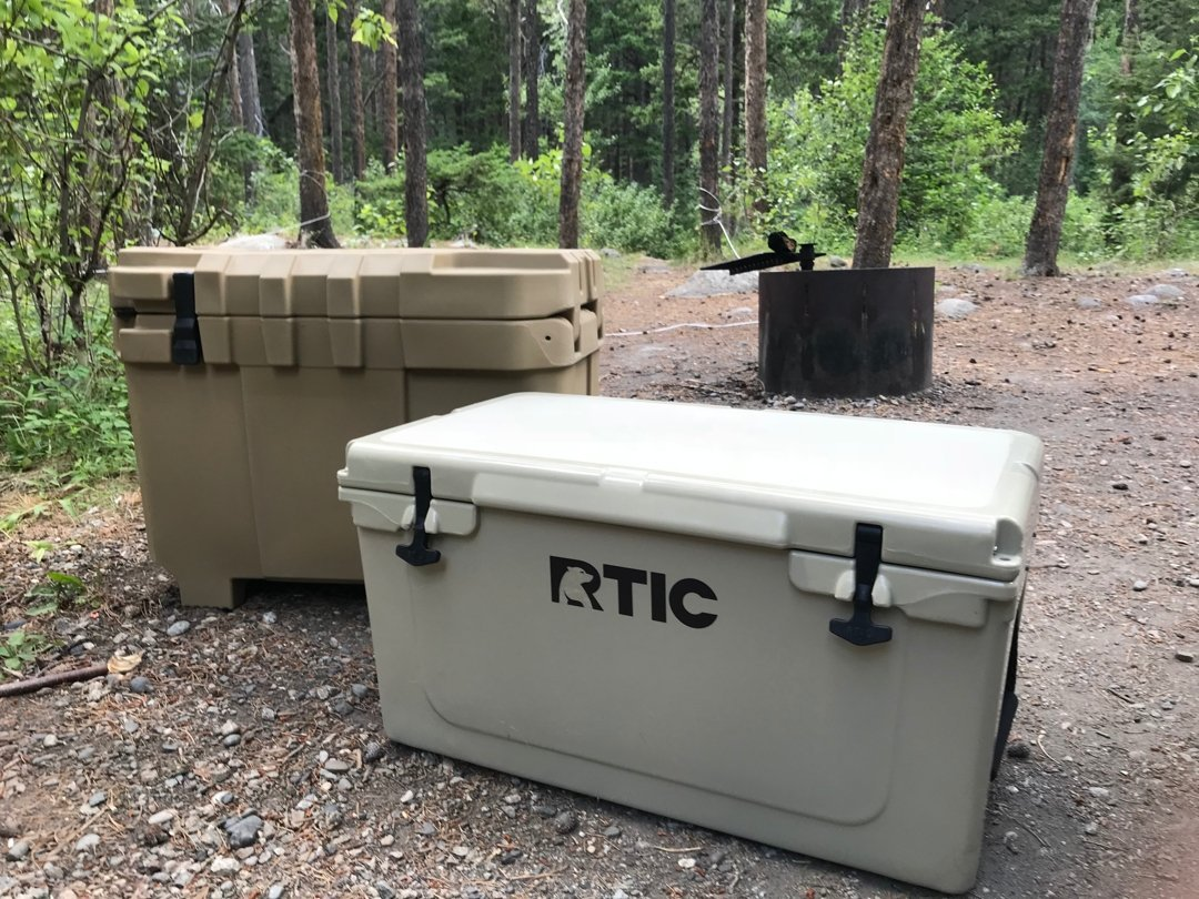 Camping with the speedbox endurance 40