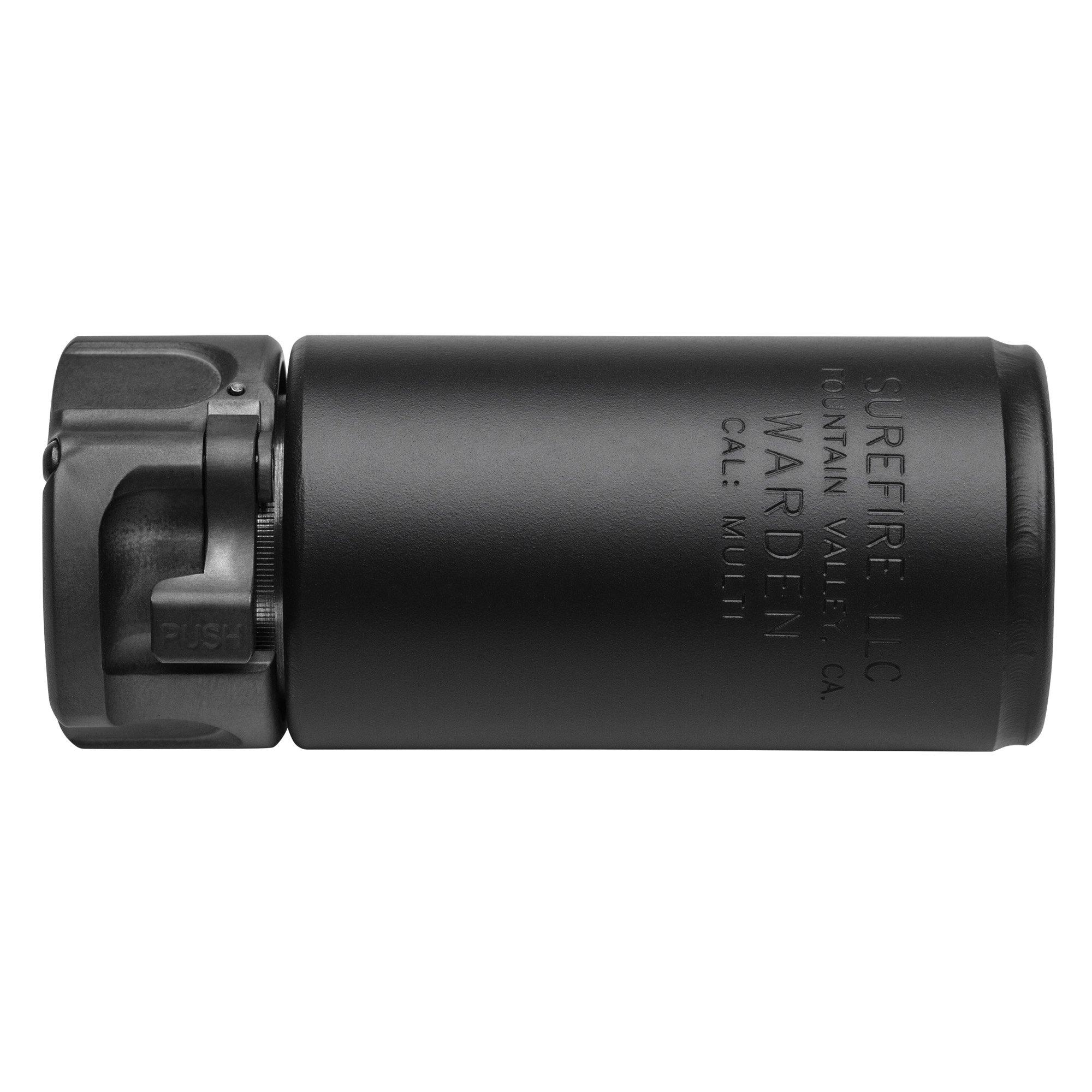 Surefire Warden 7.62 Direct Thread Blast Deflector Black