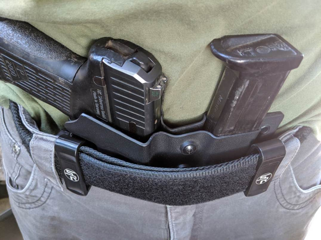 concealed carry holster spare magazine low profile