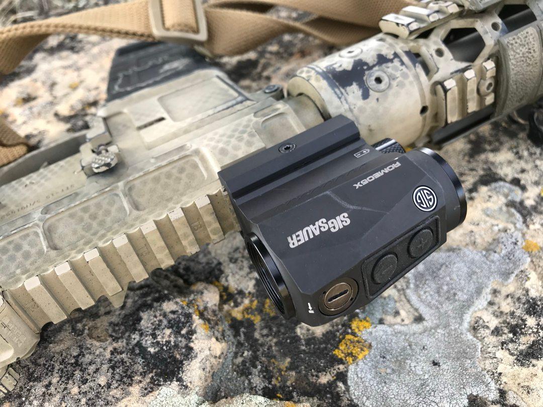 SIG Romeo5 XDR Controls