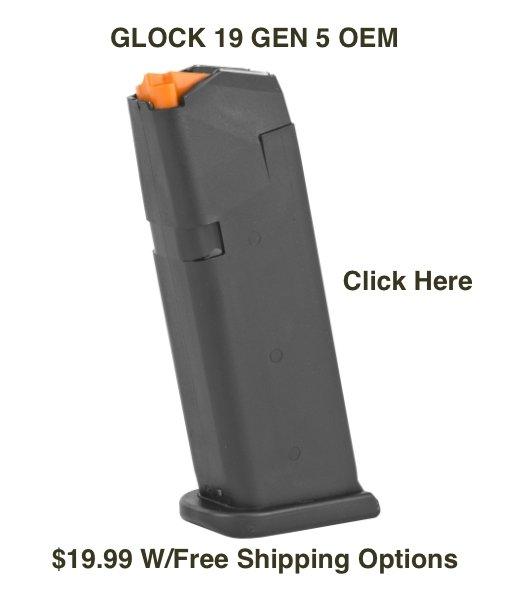 Glock 19 Gen5 OEM Mag