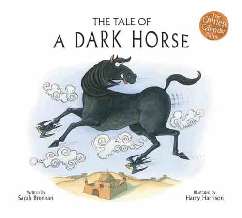 Book cover image: The Tale of a Dark Horse