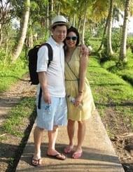 Lena Sin and Nicholas Tay