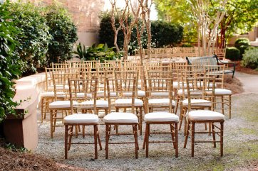 Garden Wedding Ceremony Area