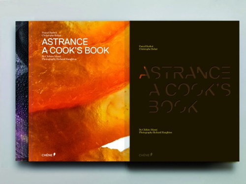 Astrance: a cookbook with an elegant cover