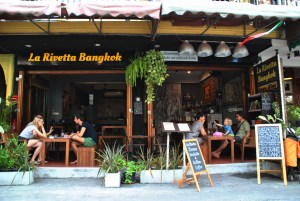 Italian food in Bangkok