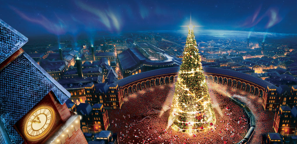 Image result for polar express north pole