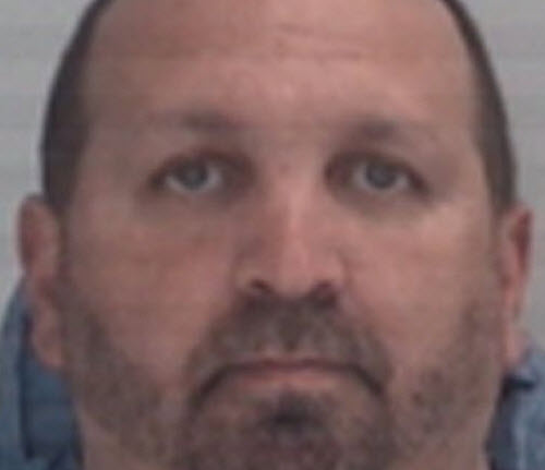 Carl Stephen Hicks, 46, charged with three counts of first-degree murder in shooting in Chapel Hill, N.C. Tuesday evening. (Chapel Hill Police Department)