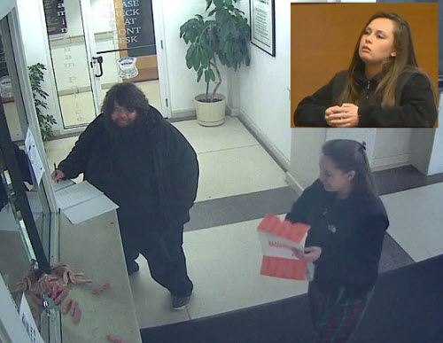 """Lindsey McNamara in December visited a police station with a box of meat to """"feed the pigs"""" is missing."""