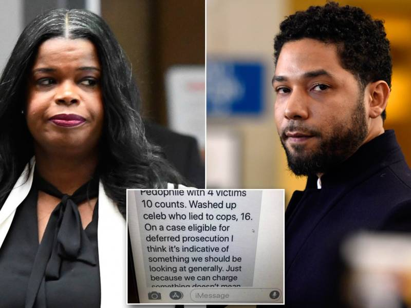 Kim Foxx Text Messages Regarding Jussie Smollett and R. Kelly Shows that Justice System is Flawed
