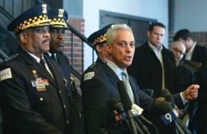 Mayor and police superintendent accused of hypocrisy in Smollett case