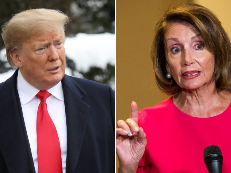 President Trump and House Speaker Pelosi Need Their Own Reality Show