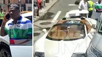 Video Extra >>> Tracy Morgan's CRASHES New Bugatti Minutes After Purchase