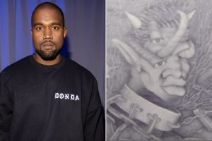 Kanye West Paintings from his High School Art Class Appraised for Thousands of Dollars