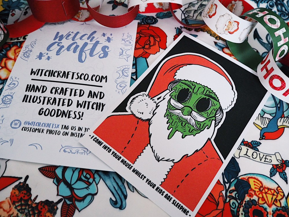 Jingle Spells: Witchcrafts Creepy Christmas Cards! - Black Tulip