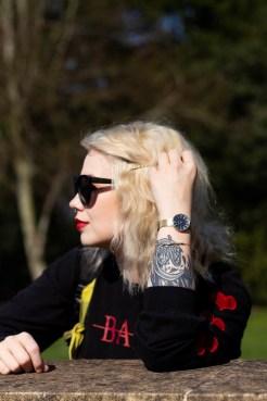 Close up Adexe watch // style identity
