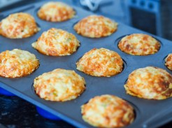 baked savoury muffin recipe