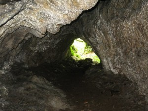 Cave on banks of Awbeg - Mesolithic settlement