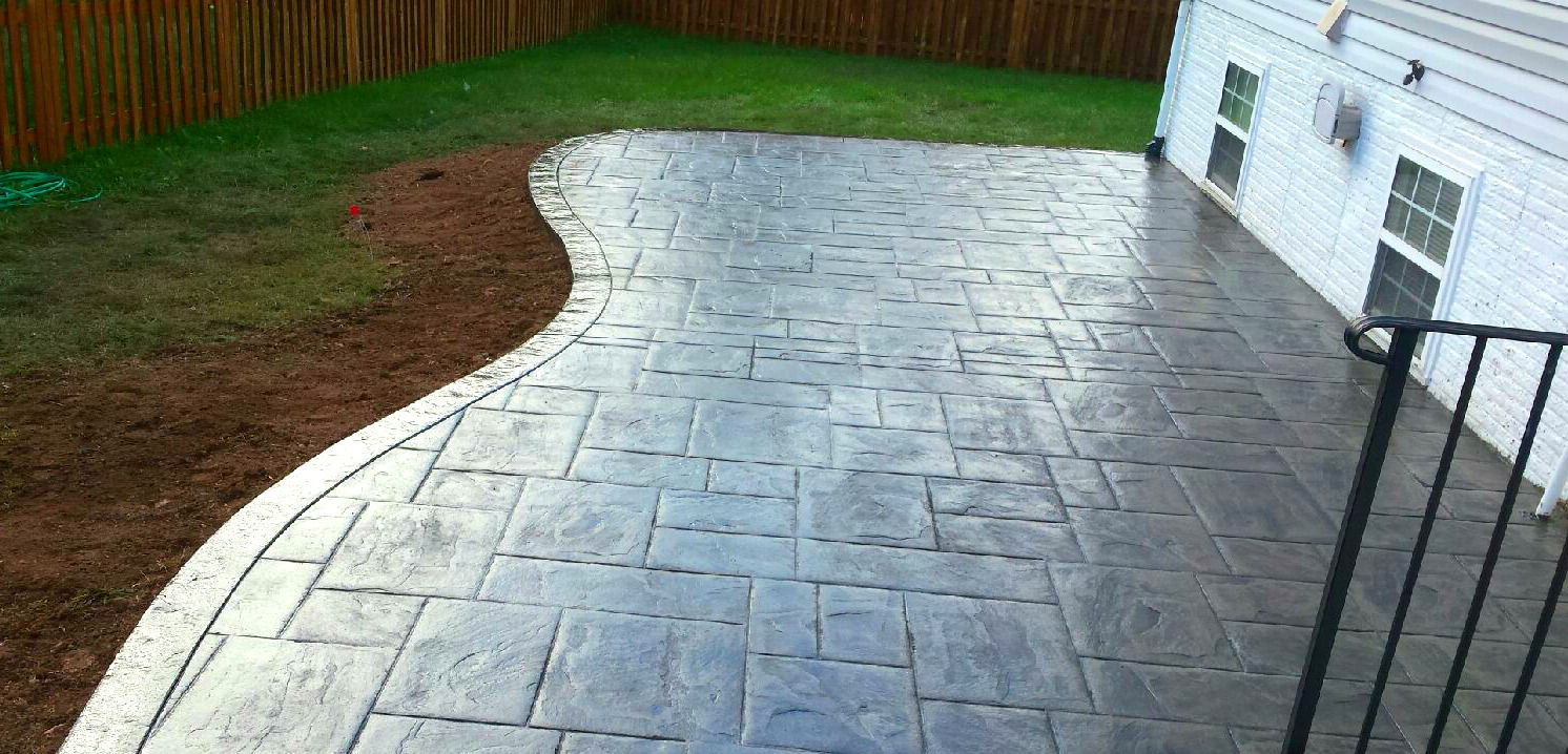 Curved Concrete Patio | Blackwater Concrete on Patio Shape Designs id=49975
