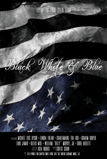 Black White & Blue