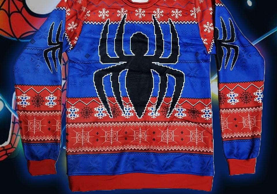 S573. Sueter Spiderman 2