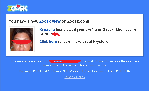 How to contact a zoosk user without being a premium user