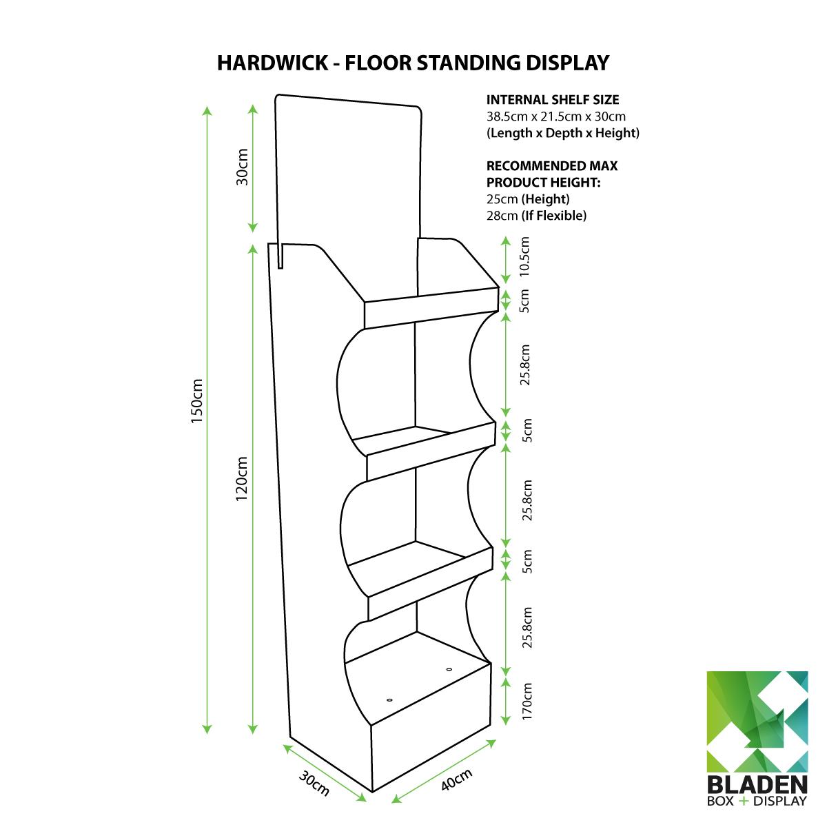 Floor Standing Displays Products