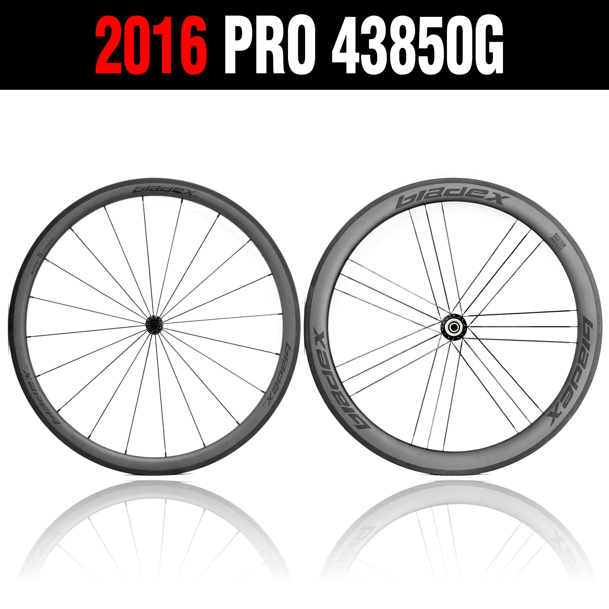 Cycling 700C Wheels Front 38mm Rear 50mm Bicycle Wheelset Carbon