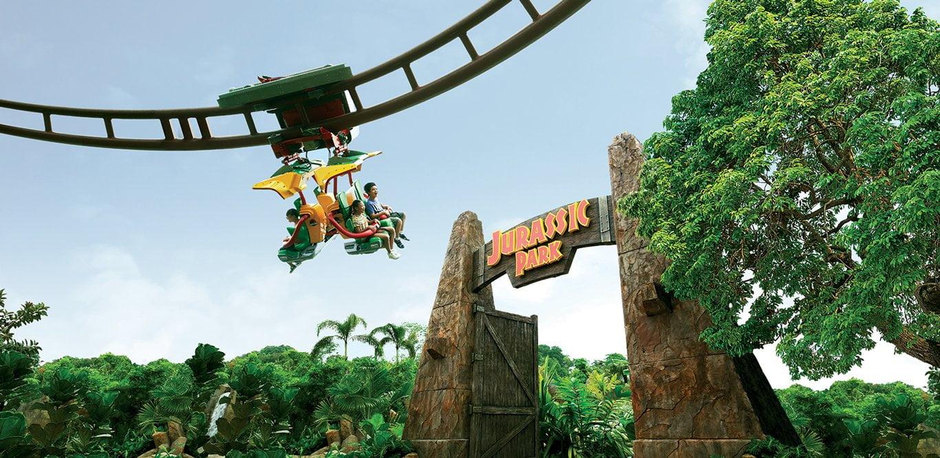 Canopy Flyer, Universal Studios Singapore