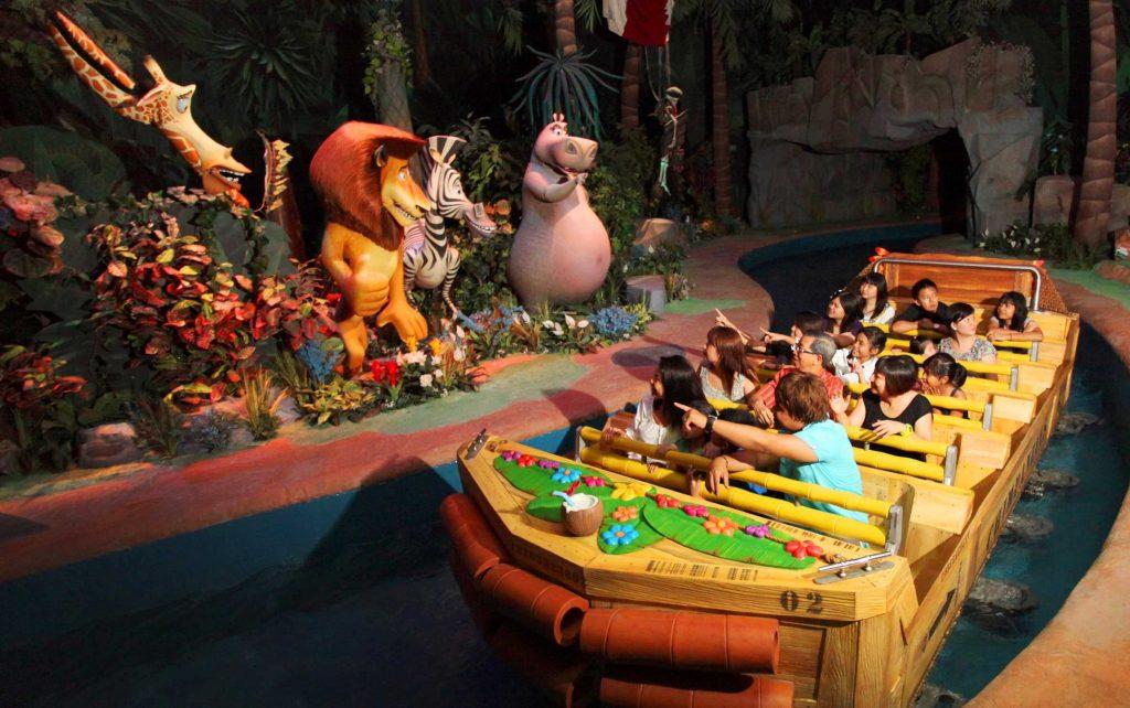 Madagascar A Crate Adventure, Universal Studios Singapore
