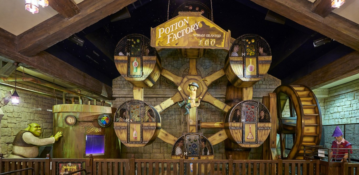 Magic Potion Spin, Universal Studios Singapore