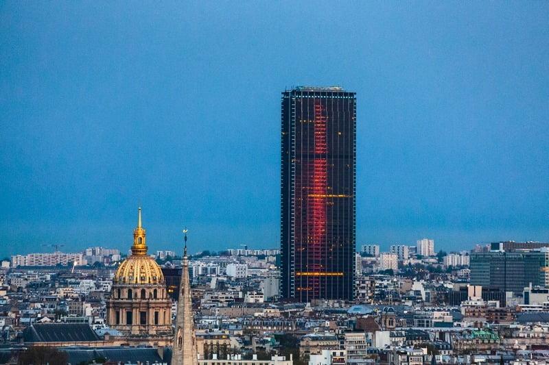 montparnasse tower, paris, perancis