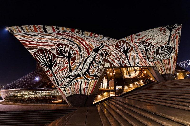 Badu Gili, Sydney Opera House, Australia