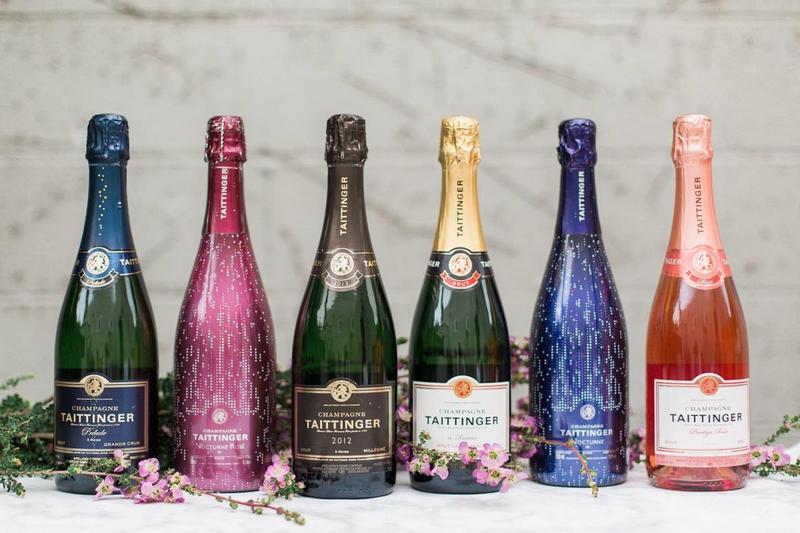 beragam jenis champagne, perancis