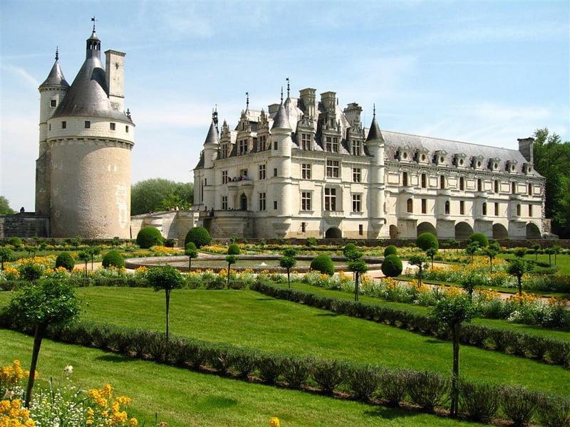 Château de Chenonceau, Perancis