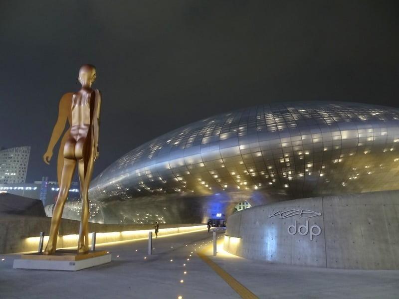 Dongdaemun Design Plaza, Korea Selatan
