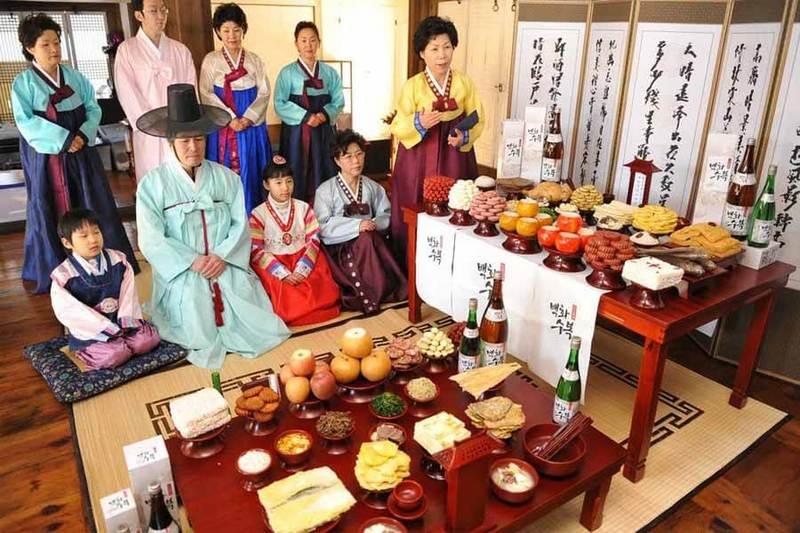 Festival Chuseok, Korea Selatan