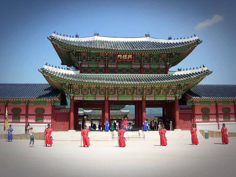 Istana Gyeongbokgung, Korea Selatan