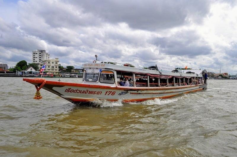 river taxi bangkok, thailand